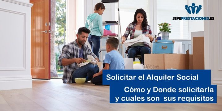 Solicitar alquiler Social de viviendas