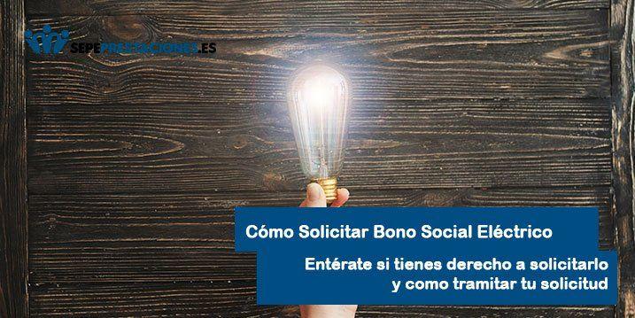 Solicitar Bono Social Luz