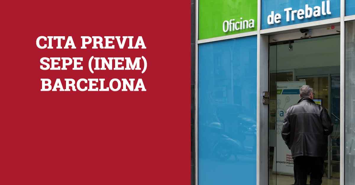 cita previa INEM Barcelona