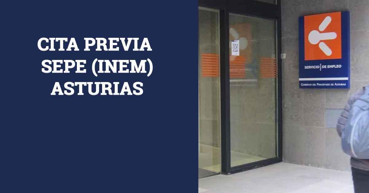 Cita Previa SEPE INEM Asturias