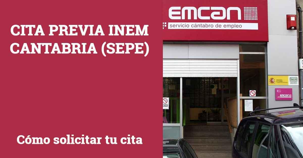 Cita Previa INEM Cantabria SEPE
