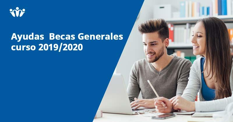 ayudas becas 2019-2020