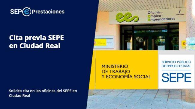 cita previa SEPE Ciudad Real