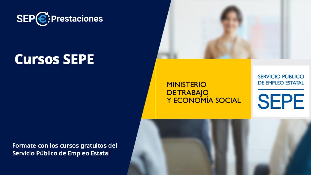 Cursos Sepe Inem 2021 Servicio Publico De Empleo Estatal