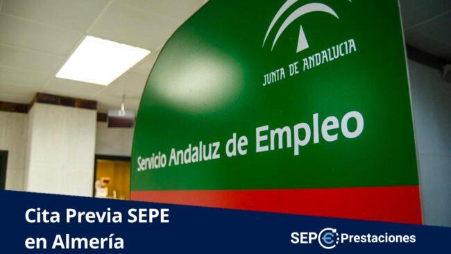 cita previa SEPE Almería